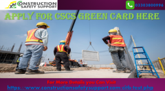 Apply for CSCS Green Card Here