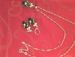 Sterling Silver and Trendy Designs Jewellery sets