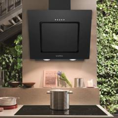 Check Out Stylish Angled Wall Mounted Cooker Hood