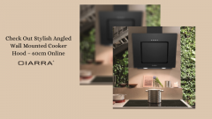Check Out Stylish Angled Wall Mounted Cooker Hoo