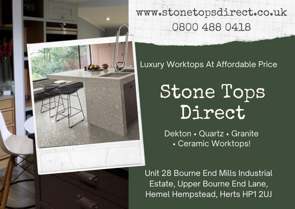 Dekton Worktops For Your Kitchen and Bathroom 3 Image