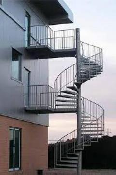 External Spiral Staircase Form Complete Stair Systems