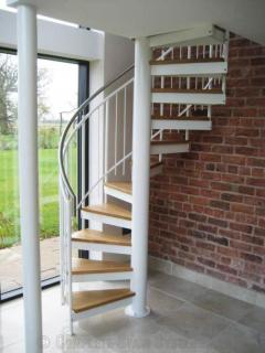 Bespoke Spiral Staircase From Complete Stair Sys