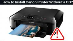 Solution For Install Canon Printer Without Cd  C