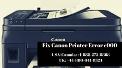 Solve Canon Printer Error C000  Call 44-80004183