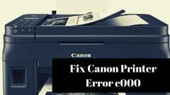 Solve Canon Printer Error C000  Call 1-888272886