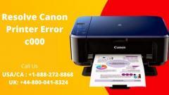 Guide To Fix Canon Printer Error C000  Call 44-8