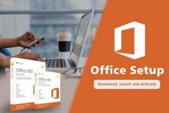 Office.comsetup - Enter your product key - Download