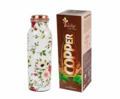 Pure copper bottle reusable leakproof 1000 ml