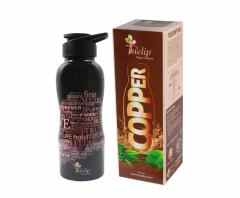 Pure Copper  leakproof  reusable  1000ml bottle