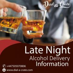 Late Night Alcohol Delivery Information