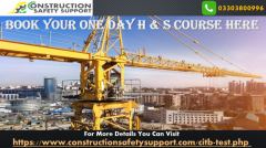 Book your One Day H & S Course Here