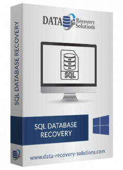 Get The Advanced Drs Sql Recovery Software For J