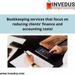 Hire Professional Bookkeeping experts at Invedus Outsou
