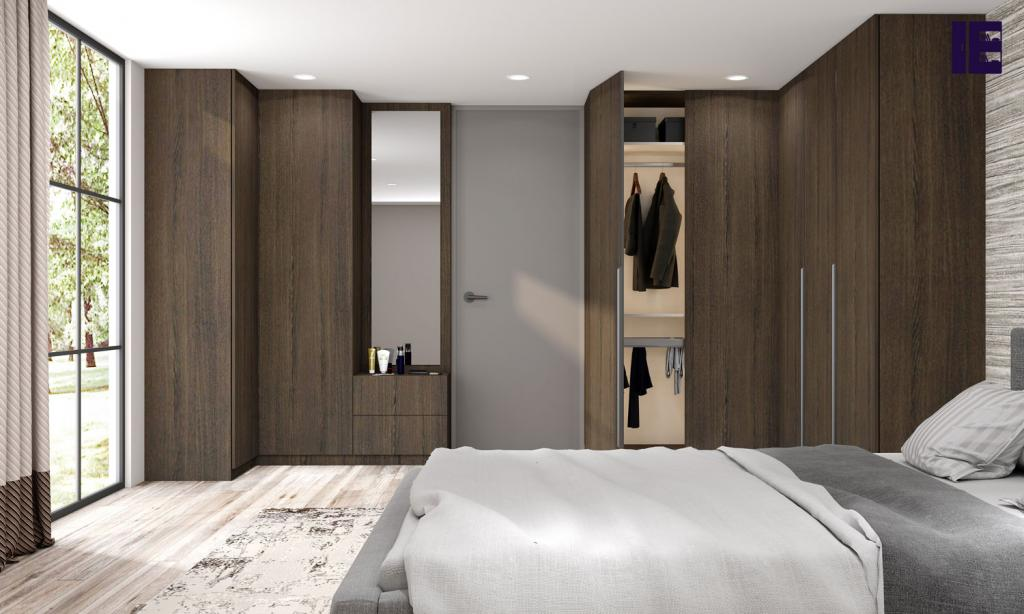 Fitted UK Corner Wardrobes for Sale Corner Fitted Wardrobe London 9 Image