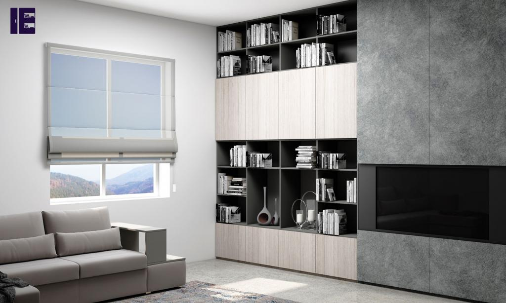 Fitted Bookcases Bespoke Bookcases Made to Measure Bookcase London 4 Image