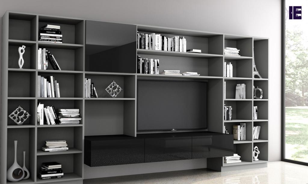 Custom Bookshelves Bespoke Book Shelves Inspired Elements 3 Image