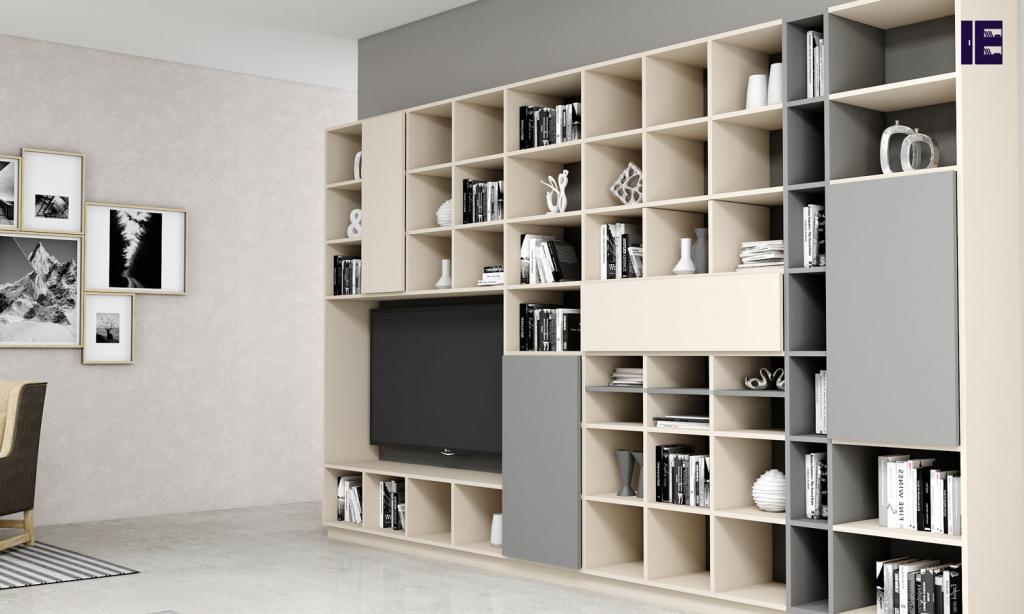 Custom Bookshelves Bespoke Book Shelves Inspired Elements 4 Image