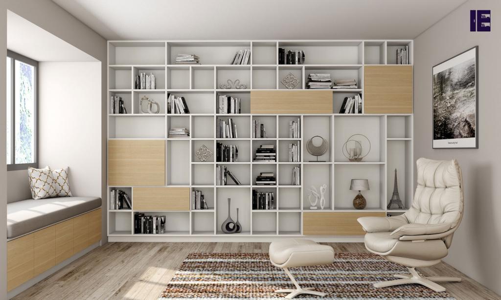 Custom Bookshelves Bespoke Book Shelves Inspired Elements 6 Image