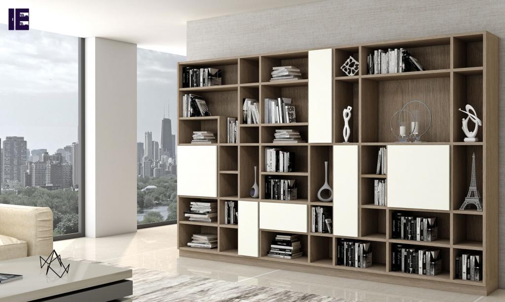 Custom Bookshelves Bespoke Book Shelves Inspired Elements 7 Image