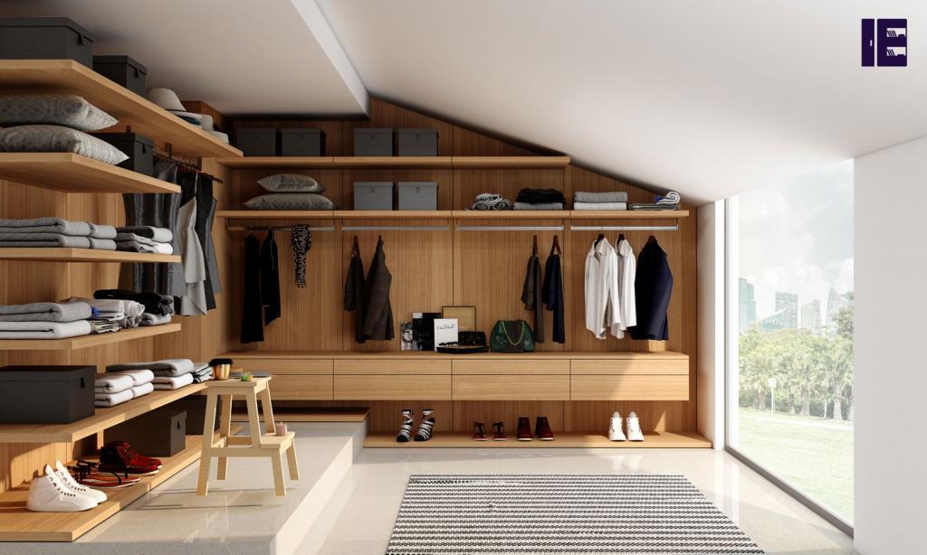 Wardrobe with Shoe Rack Top of Wardrobe Storage Internal Wardrobe 3 Image