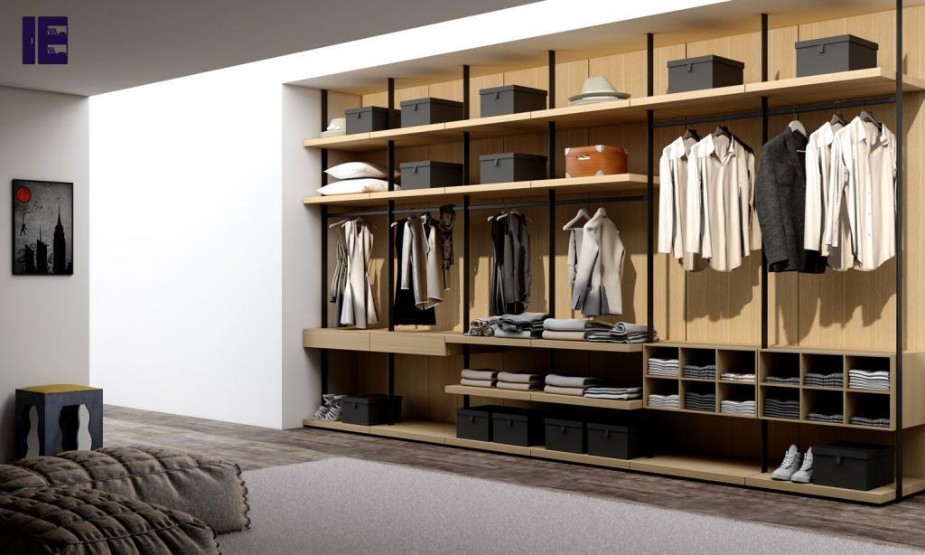 Wardrobe with Shoe Rack Top of Wardrobe Storage Internal Wardrobe 4 Image