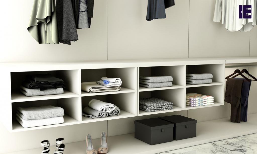 Wardrobe with Shoe Rack Top of Wardrobe Storage Internal Wardrobe 5 Image