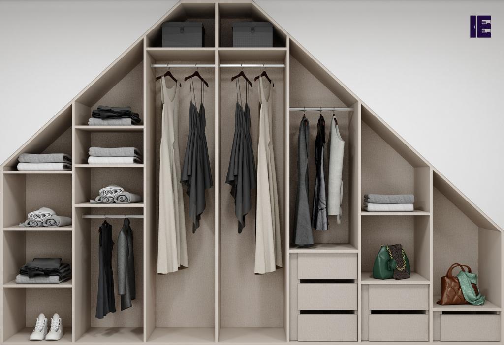 Wardrobe with Shoe Rack Top of Wardrobe Storage Internal Wardrobe 8 Image