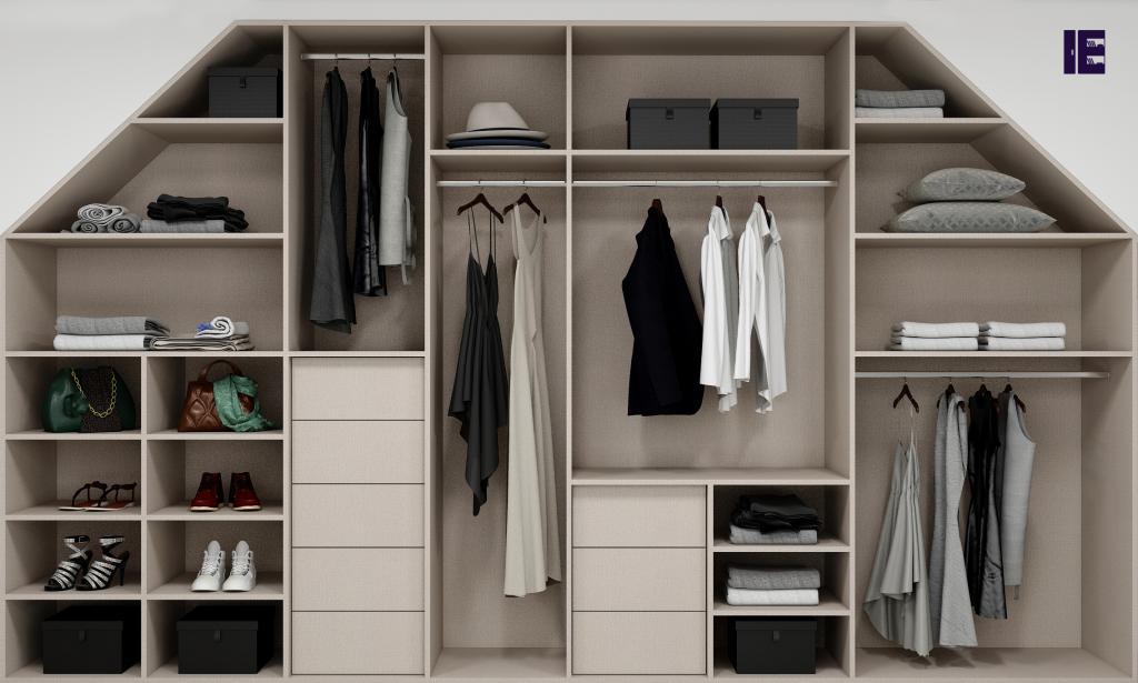 Wardrobe with Shoe Rack Top of Wardrobe Storage Internal Wardrobe 10 Image