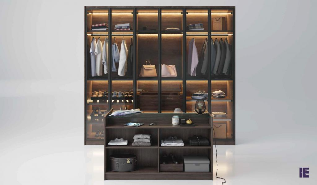 Wardrobes with Glass Doors Fitted Mirrored Wardrobes Glass Fitted 5 Image