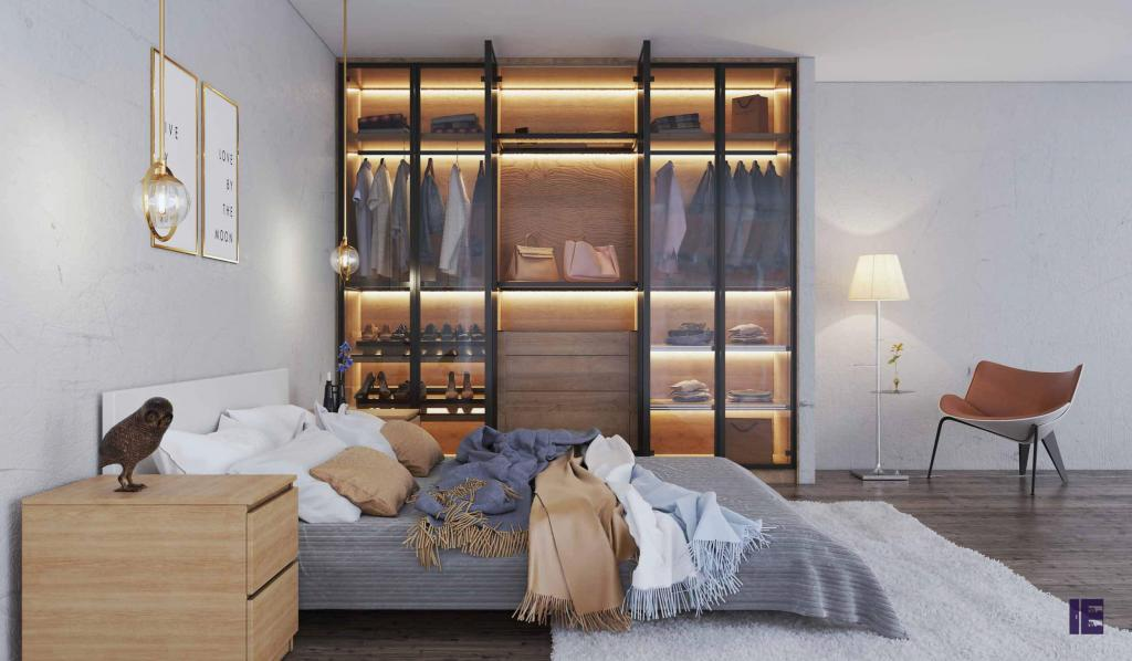 Wardrobes with Glass Doors Fitted Mirrored Wardrobes Glass Fitted 7 Image
