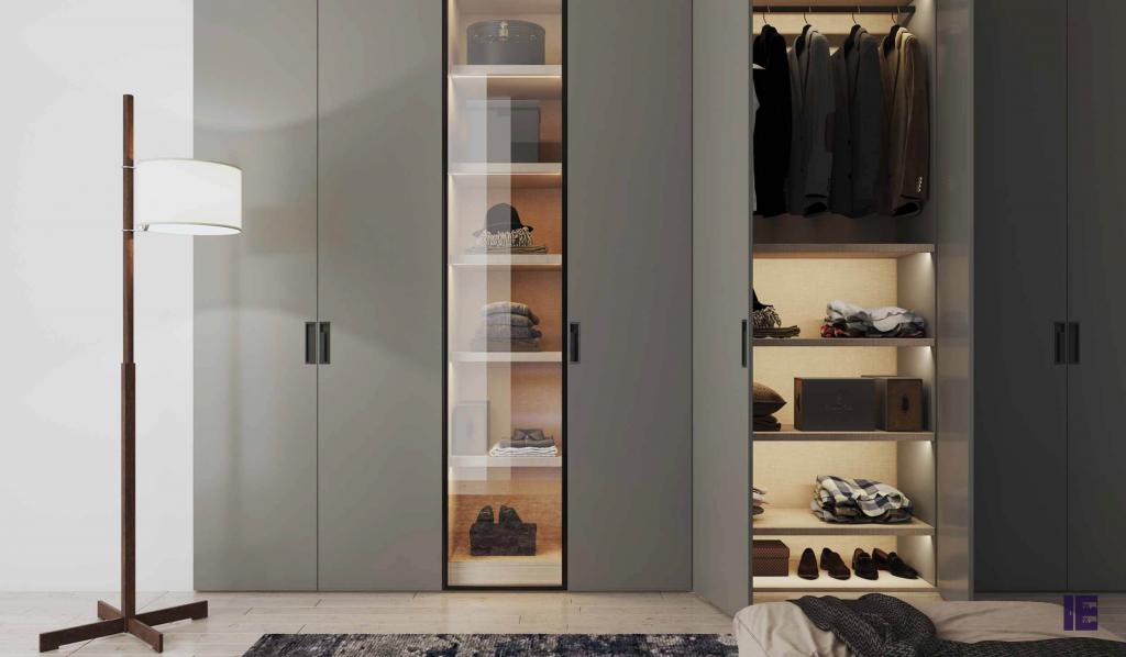 Wardrobes with Glass Doors Fitted Mirrored Wardrobes Glass Fitted 8 Image