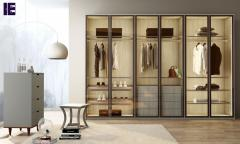 Wardrobes With Glass Doors Fitted Mirrored Wardr