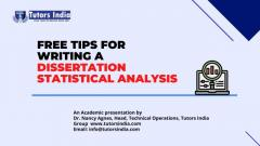 Dissertation Statistical Analysis Service
