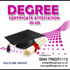 Degree Certificate Attestation In Uk