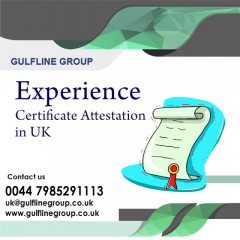 Experience Certificate Attestation In Uk