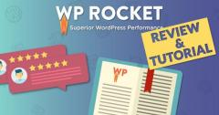 WP Rocket For Wordpress Speed Plugin