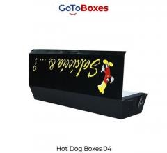 Paper Hot Dog Holder Take Out Boxes For Customer