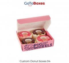 Get Custom Donut Boxes Wholesale At Gotoboxes