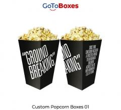 Get Popcorn Packaging Wholesale At Gotoboxes