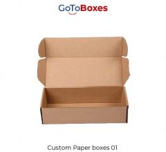 Get Paper Box Packaging Wholesale At Gotoboxes