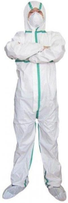 Shop Cat 3 Type 56 Asbestos Hooded Coveralls - S