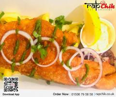 Eat Delicious Punjabi Fish N Chips - Rapchik