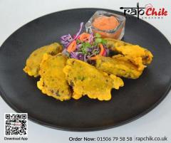 Order Scottish Favourite Snack Haggis Pakora - R