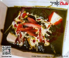 Try Our New Dish Palak Chicken Spinach Chicken -