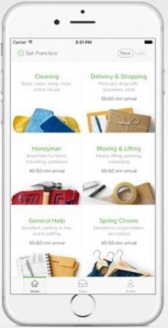 Customized Taskrabbit Clone App