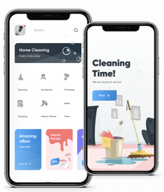 On-Demand House Cleaning Service App