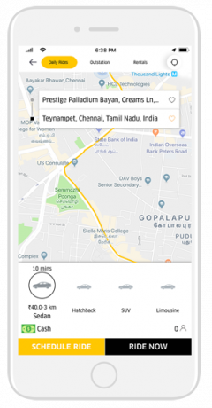 White Label Taxi App Booking Software