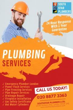 Emergency plumber in London