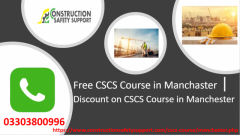 Free Cscs Course In Manchester  Discount On Cscs